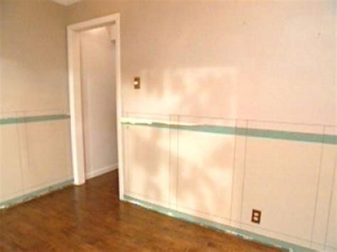 How To Install Custom Wainscoting In A Dining Room