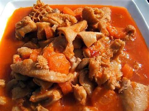 cuisiner les tripes recette de tripes 224 la ni 231 oise