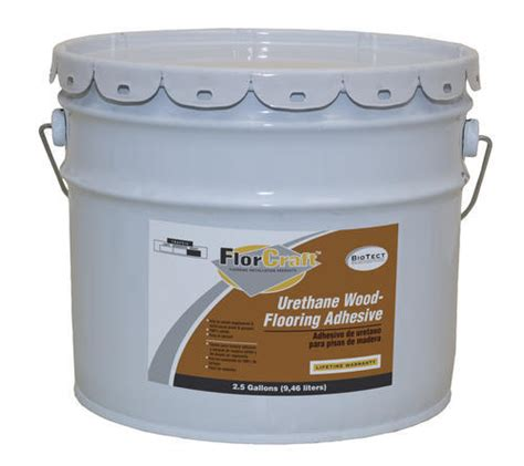 wood flooring urethane adhesive florcraft 174 urethane wood floor adhesive 2 5 gal at menards 174
