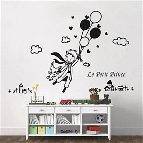wall stickers wall decals modern the prince and balloon pvc wall stickers the