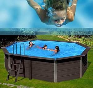 Piscine Hors Sol Composite : piscine bois composite gr r sistantes cologiques ~ Dode.kayakingforconservation.com Idées de Décoration