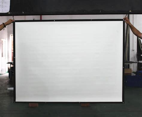 china foldable easy projection screeneasy fold screen