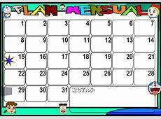 Planeador mensual Imagui