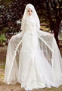 arabian wedding dresses long sleeve summer sweep train With arabian dresses wedding