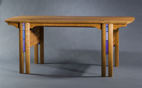 Writing Desk For Sale by Charlesrenniemackintosh Fine Furniture Custom Desks Inlaid