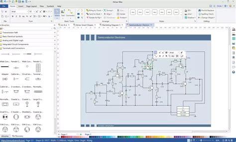How Draw Circuit Diagrams Microsoft Visio What