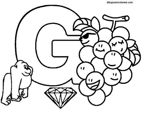 paginas para colorear alfabeto abecedario letra f letras abecedario f y g pintar y