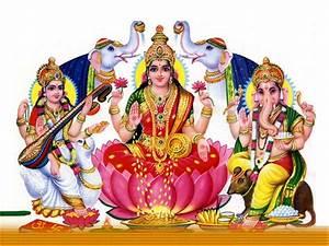 Ganesh Laxmi Saraswati HD Wallpapers,Ganesh Laxmi ...