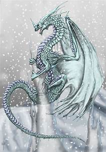 Ice Dragon by Sheranuva on DeviantArt