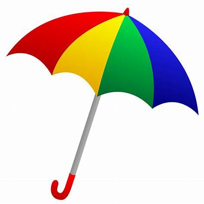 Umbrella Clipart Background Objects Beach Umbrell Colorful