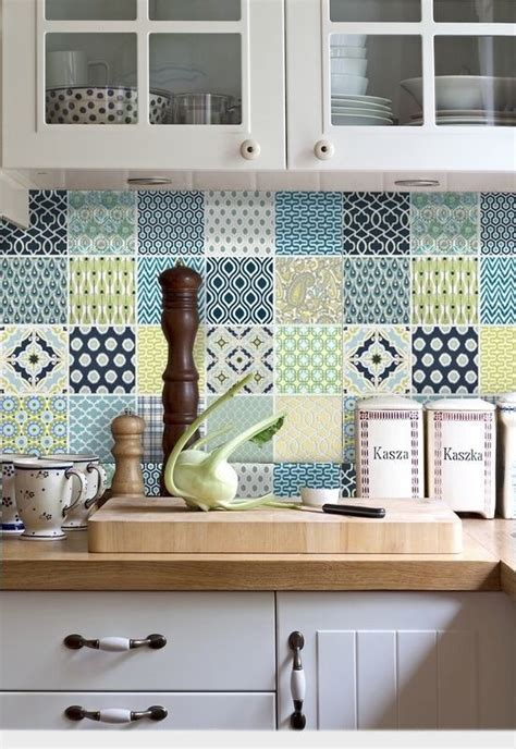 vinyl kitchen wall tiles tile vinyl stickers decorative kitchen bathroom fmix1 6903
