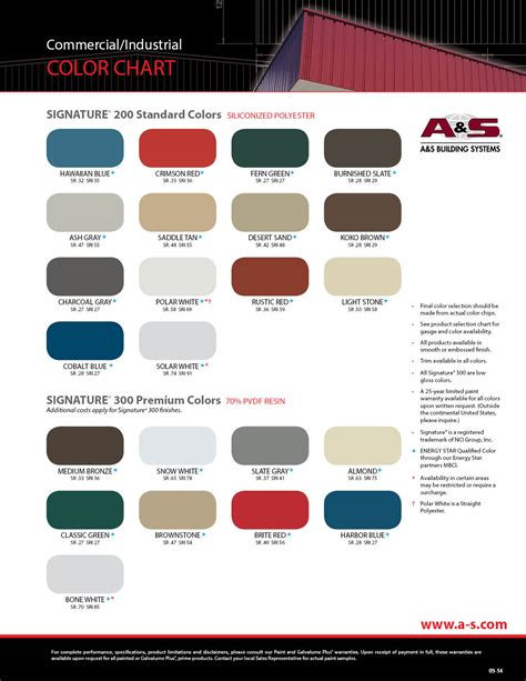 mbci color chart welcome to a s building systems