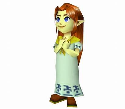 Malon Young Models Nintendo Zelda Ocarina Legend