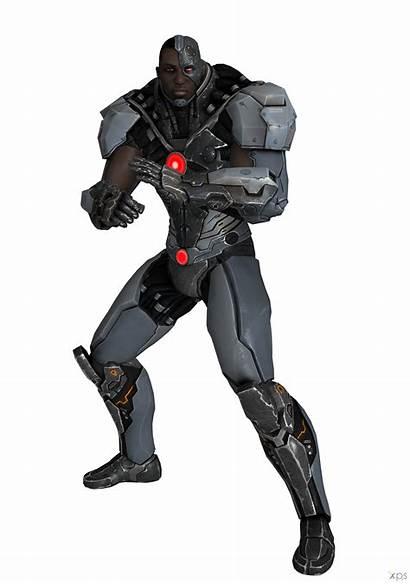 Injustice Among Cyborg Gods Transparent Deviantart Ogloc069