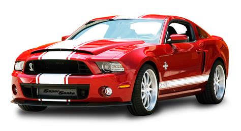 Red Ford Mustang Shelby Gt500 Snake Car Png Image Pngpix
