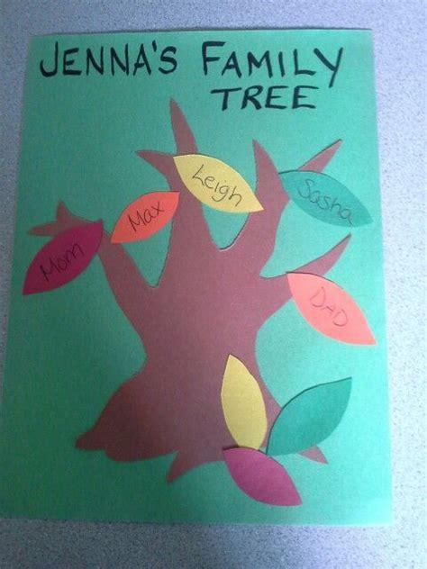 preschool family tree craft i would also do prints 194 | 69618a730e5ce645e00d1744698771f2