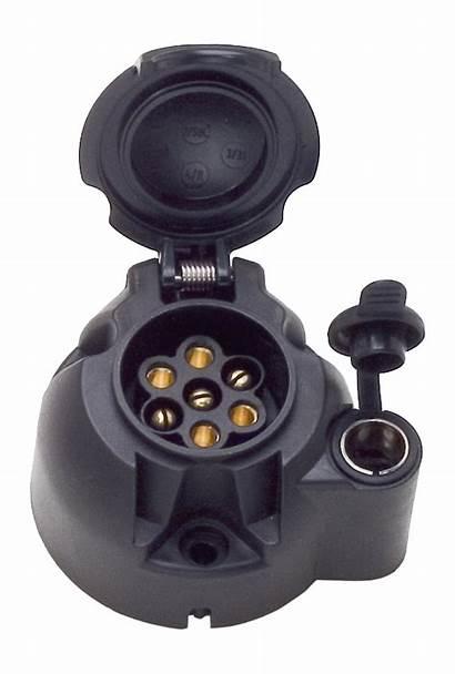 Socket 12v Iso 1724 Typ 7p Jaeger