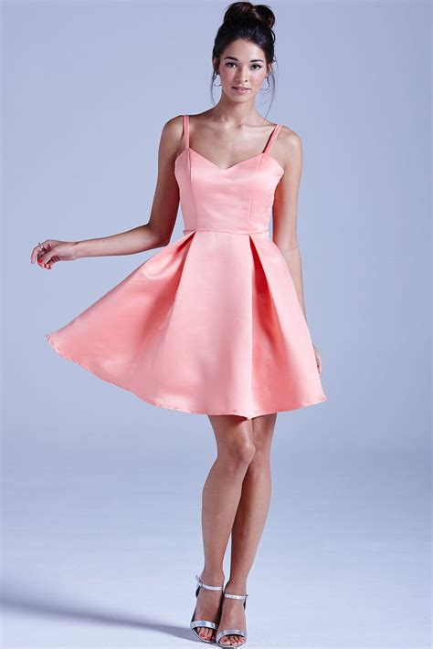 outlet girls  film coral structured bow  prom dress