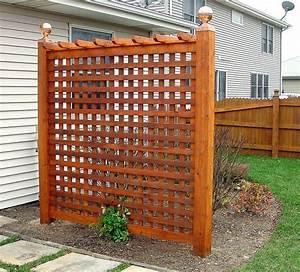 backyard privacy trellis Patio and Yard Pinterest