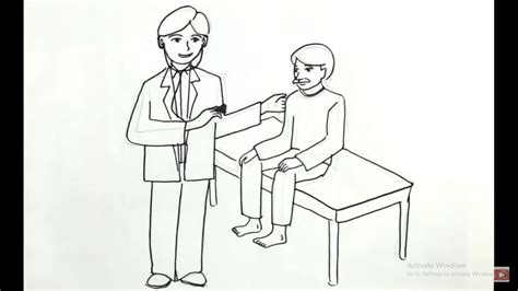 sketsa mewarnai gambar dokter mewarnai terbaru