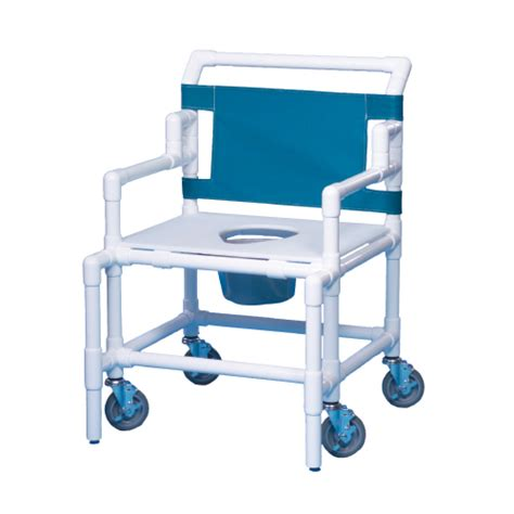 innovative products bariatric shower commode chair with