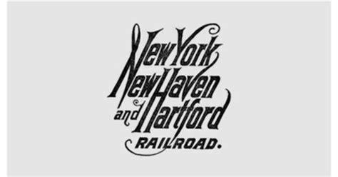 Vintage New York, New Haven And Hartford Railroad Logo