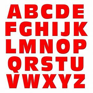 alphabet letters uppercase red mag neato39stm refrigerator With red magnetic letters