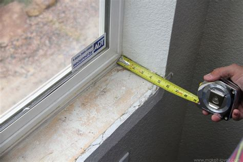 How To Make An Interior Window Sill by Home Improvement How To Add Trim Around An Interior