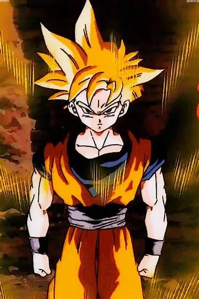 Dragon Ball Gifs Goku Gohan Super Saiyan