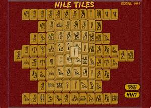 nile tiles mahjongg play free online mahjong games