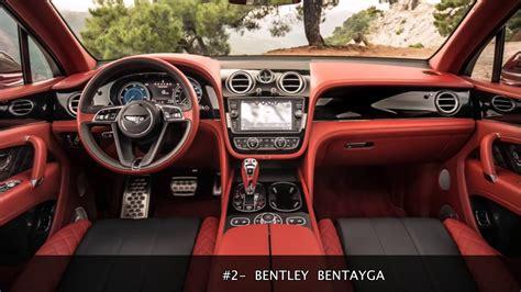 Top Luxury Car Interiors Brokeasshomecom