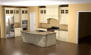large kitchens with islands glazed kitchen with large island corbels and custom nick miller design
