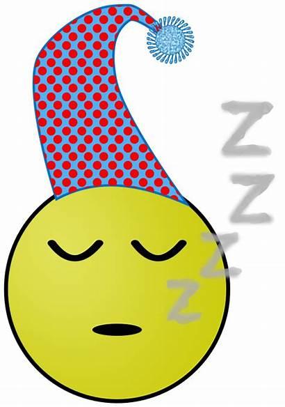Sleepy Smiley Clipart Sleeping Smily Clip Domain