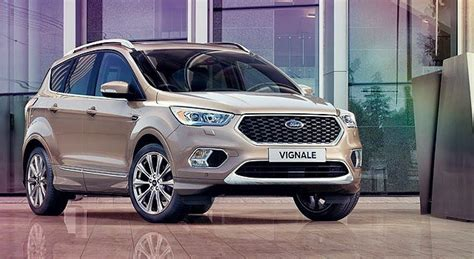 ford kuga vignale 2018 new generation of 2019 ford kuga comes with hybrid engine