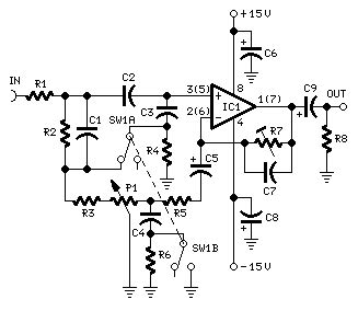 Automatic Loudness Control Circuit Diagrams Schematics