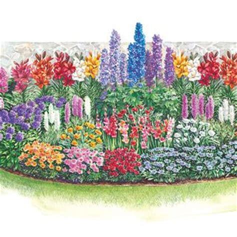 3 season cutting garden plan flowers