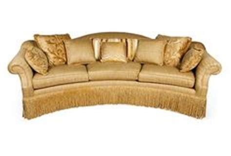 century furniture bayview curved  cushion sofa