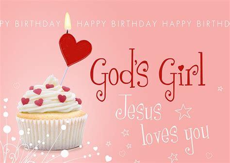 postkarte happy birthday gods girl
