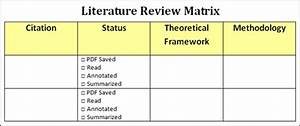 my union library With literature review template doc