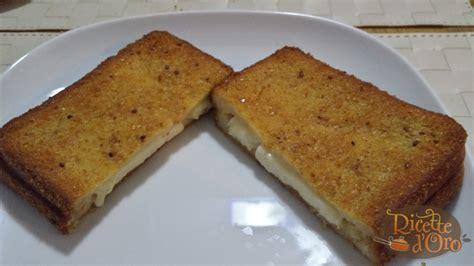 ricette mozzarella in carrozza mozzarella in carrozza ricette d oro