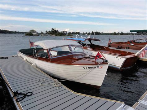 Skiff Lake Rocks by Clayton New York Antique Boat Show 2013 Chapter Two