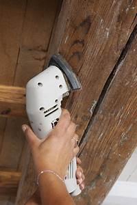 Comment Blanchir Du Bois : repeindre un plafond avec poutres en bois apparentes c t maison ~ Melissatoandfro.com Idées de Décoration