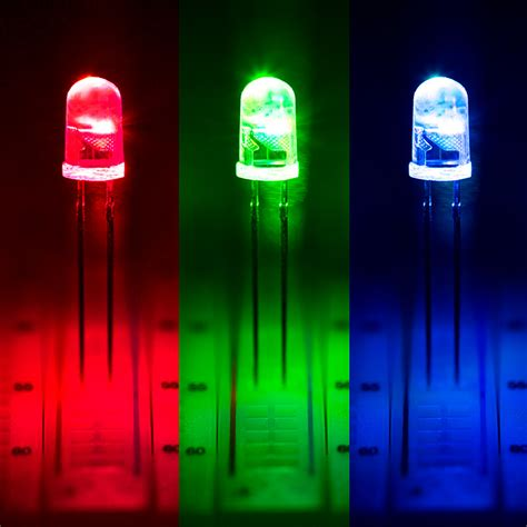 color led lights 5mm fast color changing led t1 3 4 rgb led w 30 degree