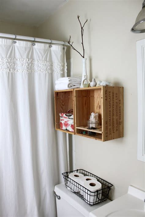 diy wine crate storage projects decorating  small space