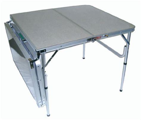 aluminum portable folding table the original quatro four lightweight aluminum portable