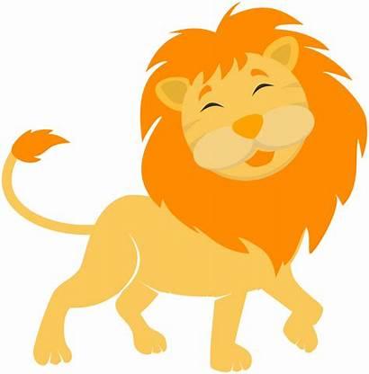 Lion Clipart Clip Cartoon Drawing Svg Vector
