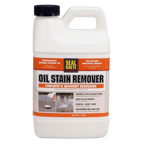seal krete 64 oz stain remover 141064 the home depot
