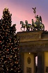 Brandenburg Gate at Christmas ~ Berlin, Germany ...