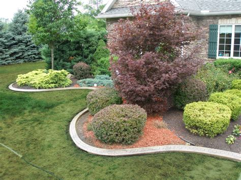 garden exles photos landscaping and curbing wny curbing exles