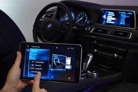 bmw introduces  touch command feature   samsung